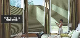 window covering motorization in richardson blind depot