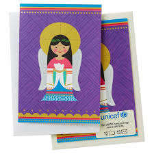 unicef graphic cards box of 12 boxed cards