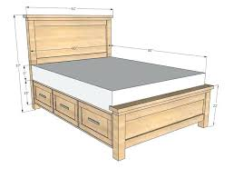 twin size wood bed frame how to build a twin bed frame twin size