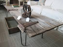 coffee table mlr wb weathered coffee table teak wood end