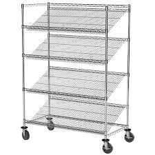 Wire Shelf Units Stackable Storage Bin Racks Pick Rack Systems Wire Shelving