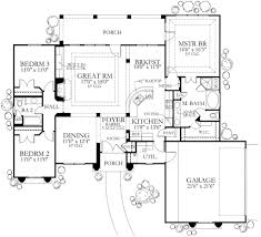 Mediterranean Style House Plans by Mediterranean Style House Plan 3 Beds 2 00 Baths 1845 Sq Ft Plan