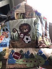 Team Safari Crib Bedding Lambs Mackenzie 6 Crib Bedding Set Ebay