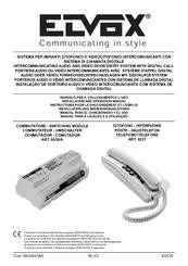 elvox 6221 manuals