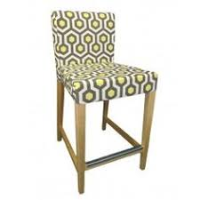 bar chair covers chevron custom slipcover for ikea henriksdal bar stool from