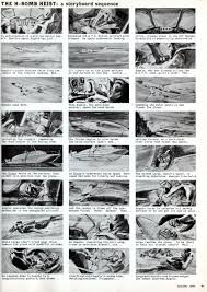 Movie Canopy by Storyboard For The James Bond Movie U0027thunderball U0027 Published In