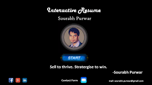 Resume Creator App by Interactive Resume Sourabh P Android Apps On Google Play