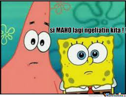 Meme Spongebob Indonesia - patrick spongebob by adam vhengeance meme center