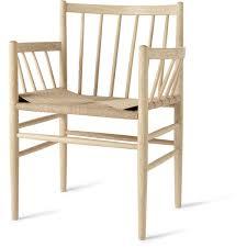 Oak Armchair J81 Armchair Natural Oak Natural Seat Danish Classics By Mater