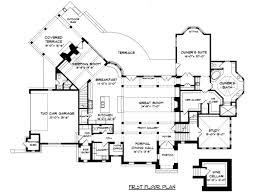 tudor mansion floor plans floor plan of european tudor house plan 53748 blueprints