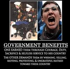Whiner Meme - liberal selfishness on government benefits brilliantly exposed meme
