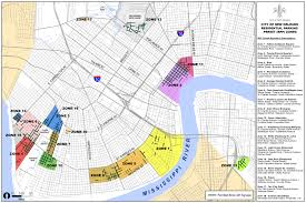 Louisiana Parish Map With Cities by Dpw Residential Parking Permit City Of New Orleans