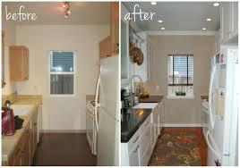 galley kitchen before and after pueblosinfronteras us home design