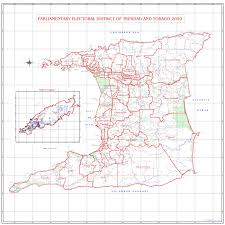 Map Of Trinidad Boundary Changes Coming For 2015 Polls The Trinidad Guardian