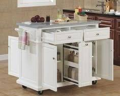 White Kitchen Cart Island White Portable Kitchen Island Advertising4income