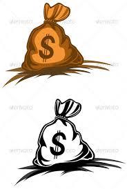 money bag vector graphics