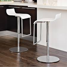 modern adjustable swivel bar stools change your home decor with