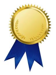 blue and gold ribbon winners of the contest for most popular strategies for students with