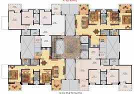 big houses floor plans layout 11 le claire georgian home plan 020s