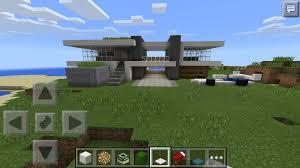simple modern house minecraft pe mcpe stupendous 41 on home design