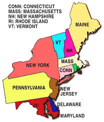 map us northeast northeast region map us map of northeastern states and cities map