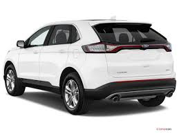 white ford edge 2017 ford edge pictures angular front u s report