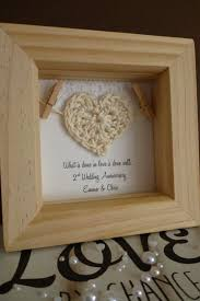2nd anniversary gifts for awesome 2nd wedding anniversary gift b32 in images collection m12