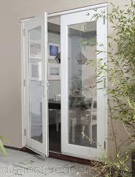 Patio Doors Uk Jeld Wen Wellington Pine White Pre Finished Exterior Patio Doors