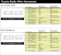 wiring diagram radio toyota wiring diagrams instruction
