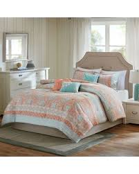 Madison Park Duvet Sets Fall Into Savings On Madison Park Rosie Coral 7 Piece Comforter