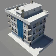 3d apartment apartment 1 3d model cgtrader