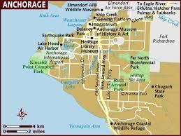 us map anchorage alaska map of anchorage