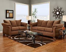 amazon com roundhill furniture aruba microfiber pillow back sofa