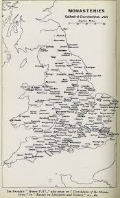 Leicester England Map by Ecclesiastical Medieval Maps Monasteries Of England