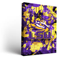 6 Flags Song Wall Art Design Ideas Colorful Design Lsu Wall Art Fight Song