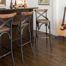 Bar Stool With Back Impressive Best 25 Rustic Bar Stools Ideas On Pinterest Rustic