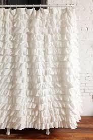 Lush Decor Ruffle Shower Curtain by 10 Rideaux De Au Style Ruffle Pour Vous Inspirer