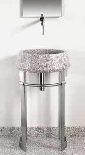 Modern Pedestal Sinks Modern Sheet Metal Pedestal Sink From Effepimarmi New Leg