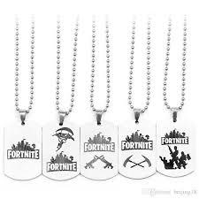 metal necklace designs images Wholesale fortnite necklace 5 designs fortnite logo stainless jpg