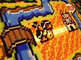 check out this insanely detailed super mario bros 3 rug a dude