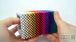 colorful hollow cube zen magnets neoballs buckyballs nanodots