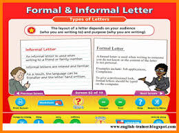 how to write formal and informal letter writing huanyii com