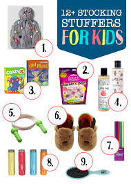 Stocking Stuffers Ideas Stocking Stuffer Ideas For Kids One Lovely Life