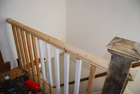 Stripping Paint From Wood Banisters How To Stain A Handrail