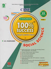 evergreen 100 sample question papers in social science term ii