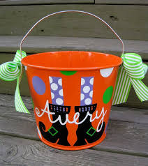 28 halloween bucket items similar to halloween bucket