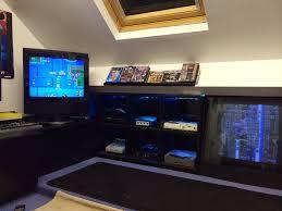 games room 2015 man cave retro gaming setup u0026 tour december youtube
