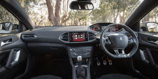 peugeot 308 gti interior 2016 peugeot 308 gti 270 review caradvice