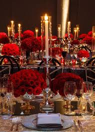 Red Rose Table Centerpieces by 108 Best Red Centerpieces Images On Pinterest Marriage Events