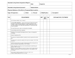 home inspection report forms free download and site inspection